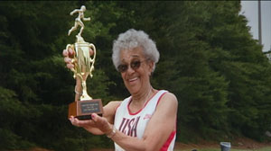PHOTO 95-Year-Old Woman Shatters Running Record New Yorker Ida Keeling ran 60 Meters in 29.86 Seconds -- Slashing Nearly10 Seconds off the old Mark