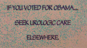"Florida doctor tells Obama supporters to ""go elsewhere"" for care."