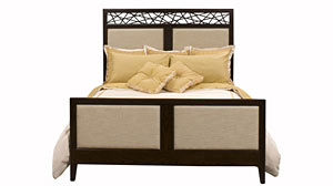 PHOTO: Shown here is the 1911 Preston Upholstered Bed by Harden Furniture.