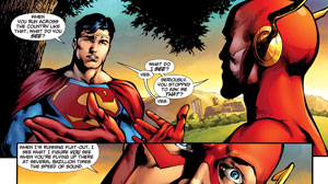 PHOTO Comic book heroes like Superman are getting a makeover for the digital age.