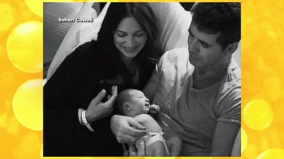 Simon Cowell Shares Baby Photos