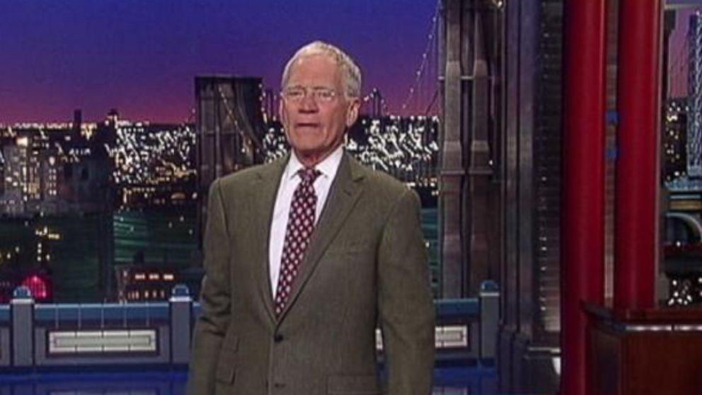 David Letterman Announces His Retirement