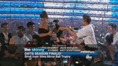VIDEO: Bindi Irwin basks in victory after winning the Mirror Ball trophy in the Dancing with the Stars finale.
