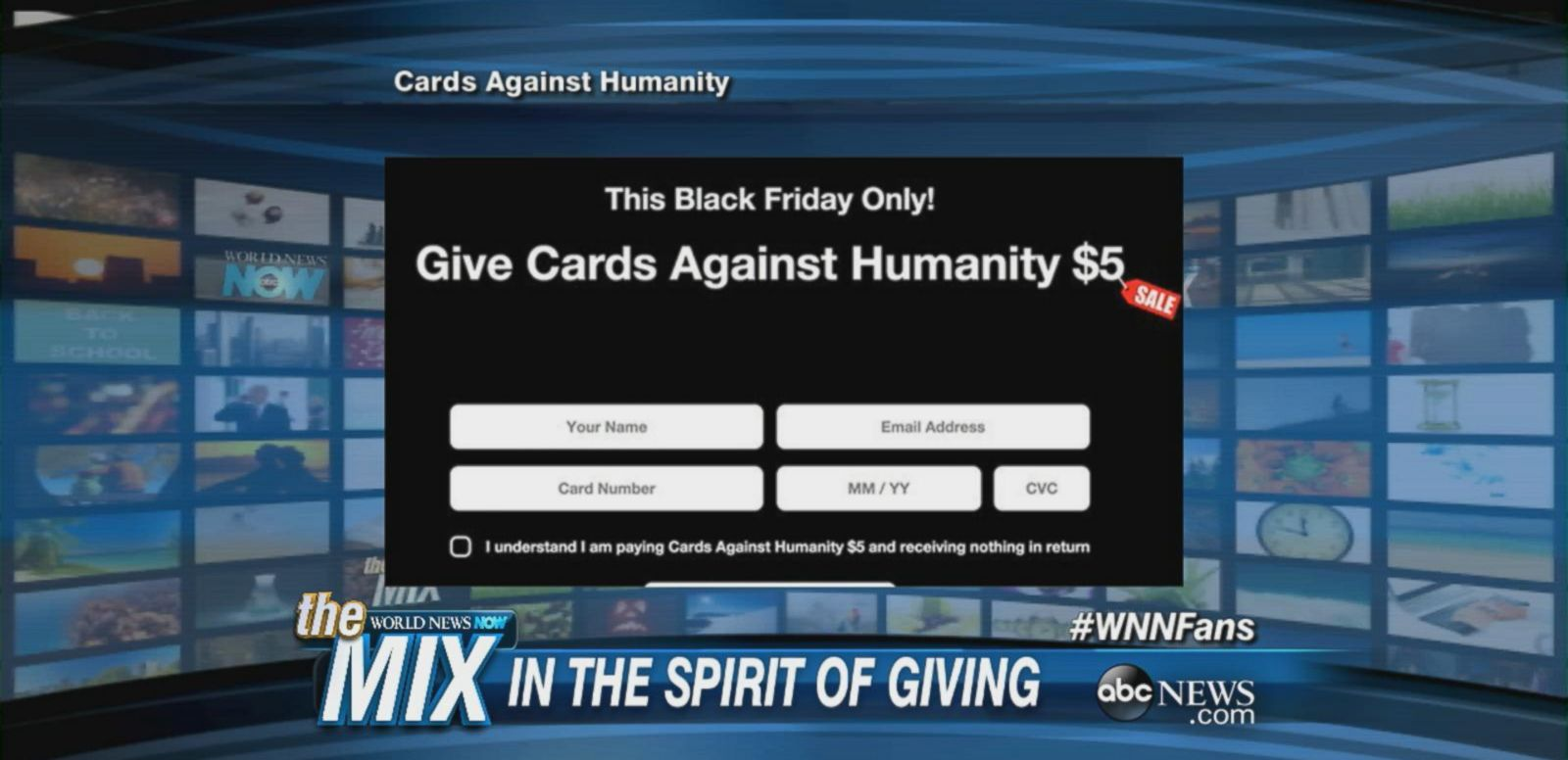 VIDEO: 'Cards Against Humanity' Has a Profitable Black Friday