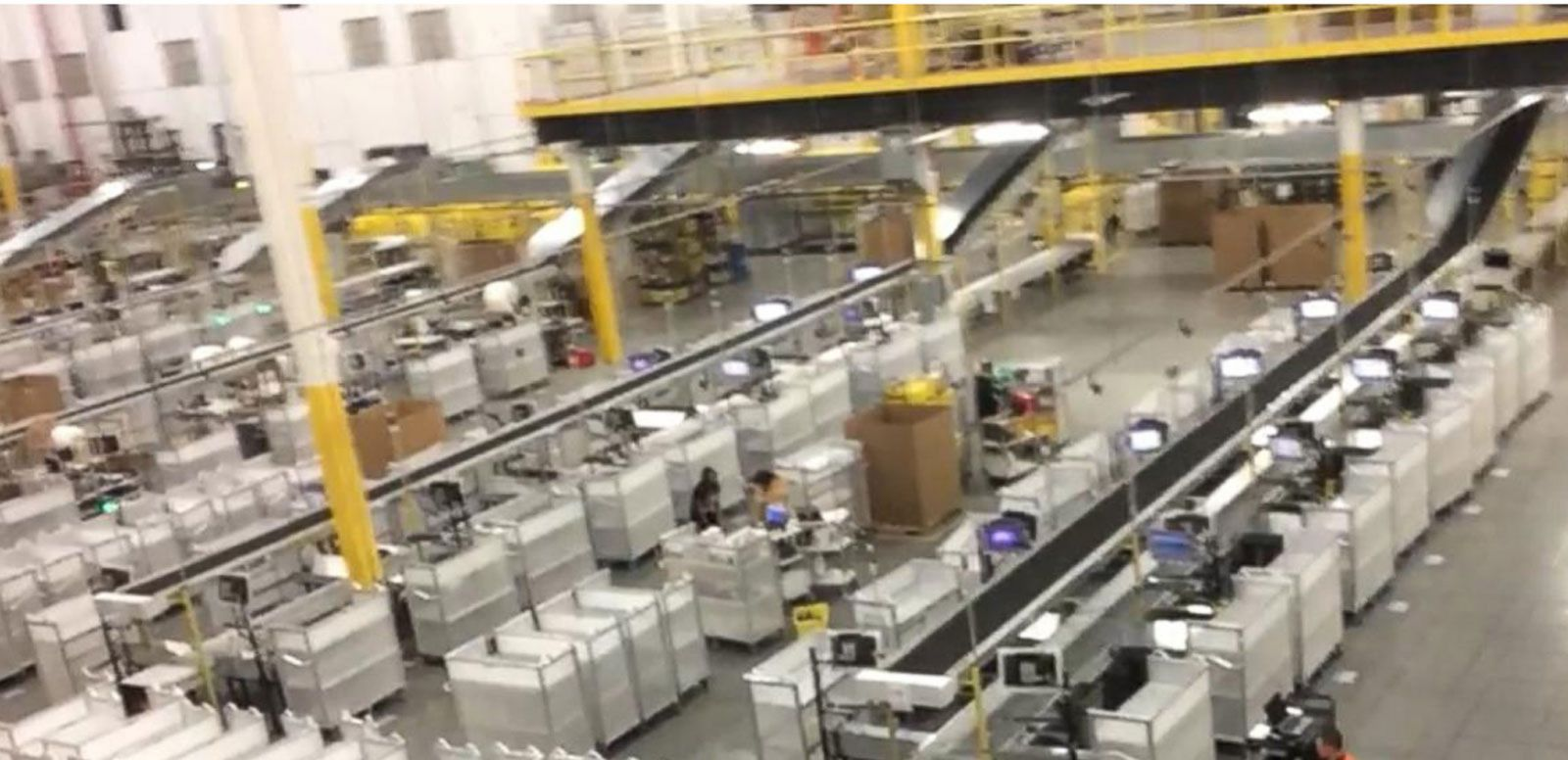 VIDEO: Cyber Monday: Inside an Amazon Fulfillment Center