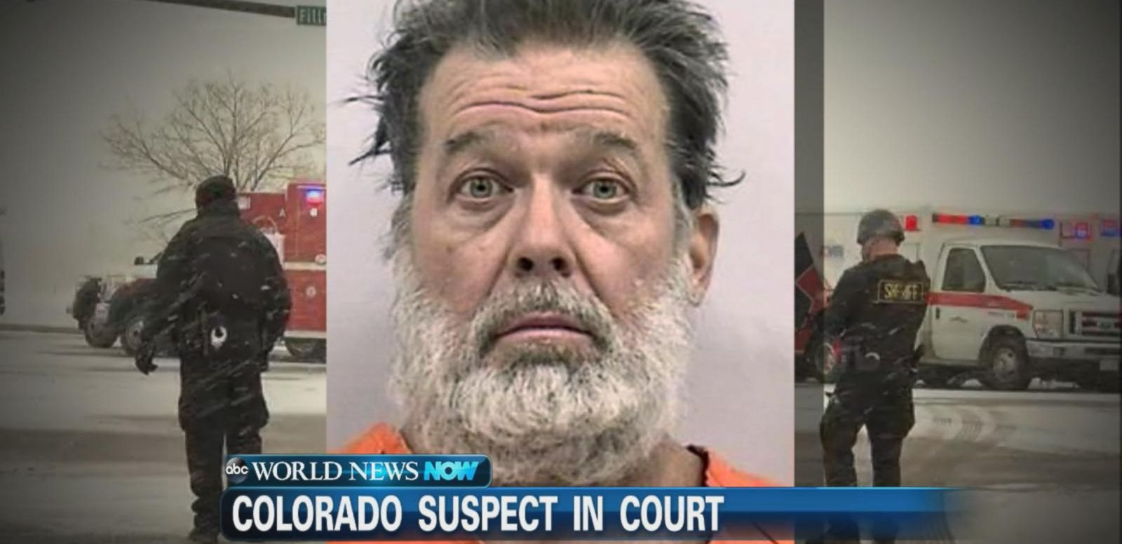 VIDEO: Planned Parenthood Suspect in Custody