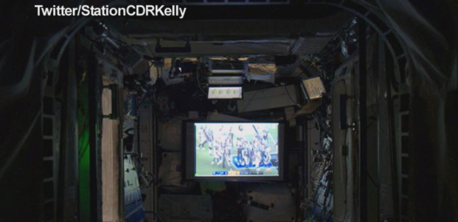 VIDEO: Astronaut Captures Super Bowl 50 From Space
