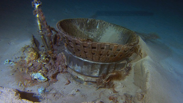 NASAs Apollo Engines Recovered from the Ocean