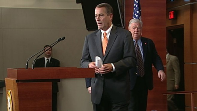 VIDEO: Presumptive House Speaker John Boehner has said the GOP has a lot to prove.