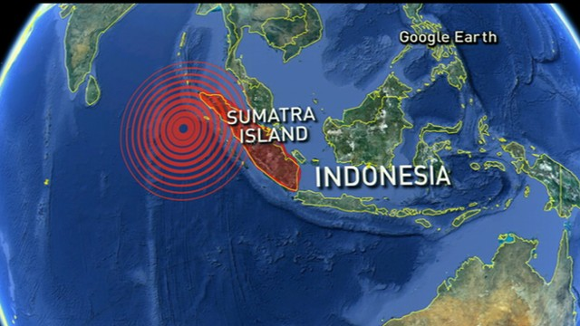 TERREMOTO DE 7,9 GRADOS SACUDE INDONESIA 2 DE MARZO 2016