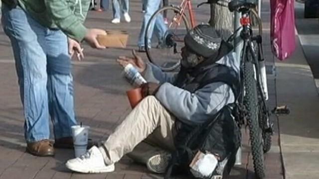 A Homeless Man Gets Reward for Honesty