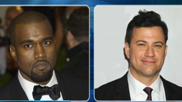 Jimmy Kimmel in a Rap War With Kanye West?
