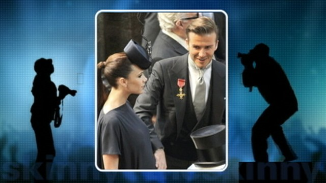 VIDEO: David and Victoria Beckham announce birth of daughter Harper Seven.