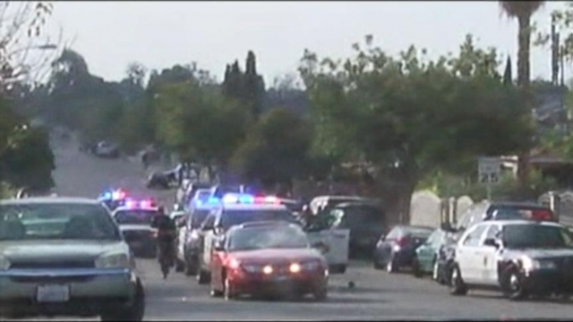 VIDEO: Shots that were fired critically injured the suspect and may have been too close to bystanders.