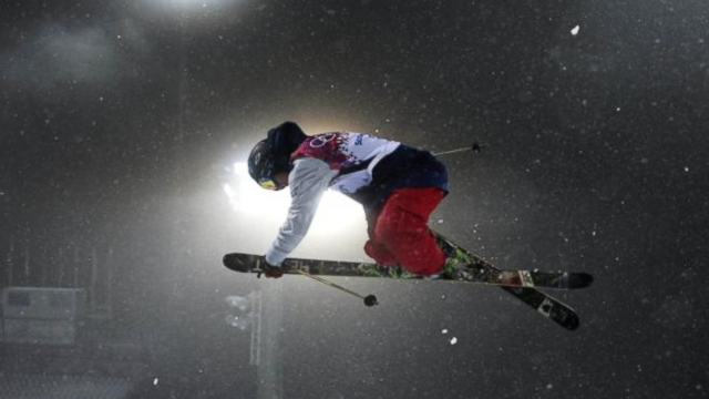 """VIDEO: """"Un-Dude"""" David Wise takes gold skiing half pipe, and rookie Alex Deibold wins bronze in snowboard cross."""