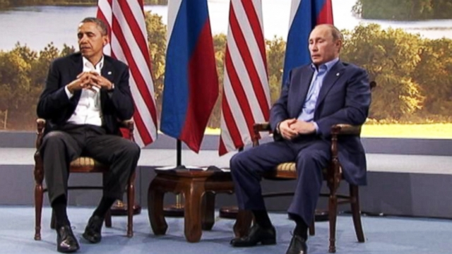 VIDEO: Obama and Putin Worlds Apart When It Comes to the Ukraine