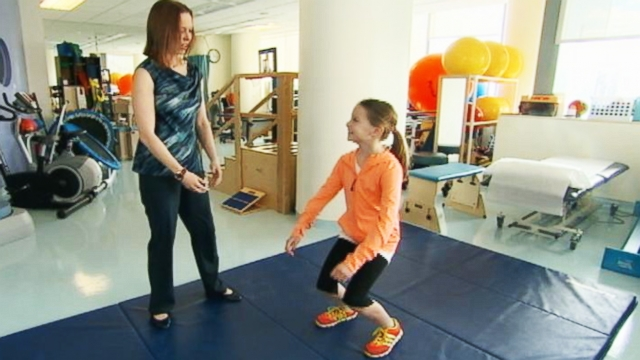 VIDEO: Children Getting Adult Sports Injuries?