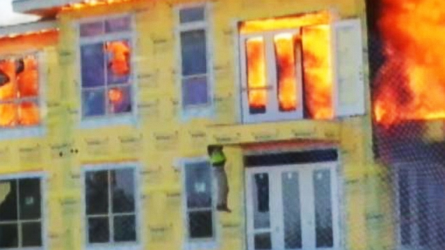 VIDEO: Saved from a Burning Inferno