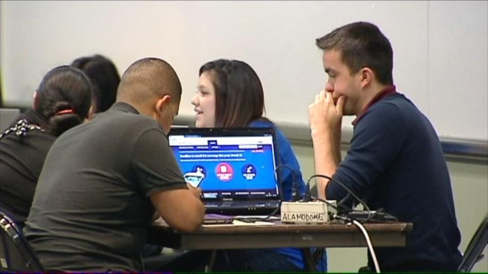 VIDEO: The sudden surge of insurance seekers brought healthcare.gov down for hours.