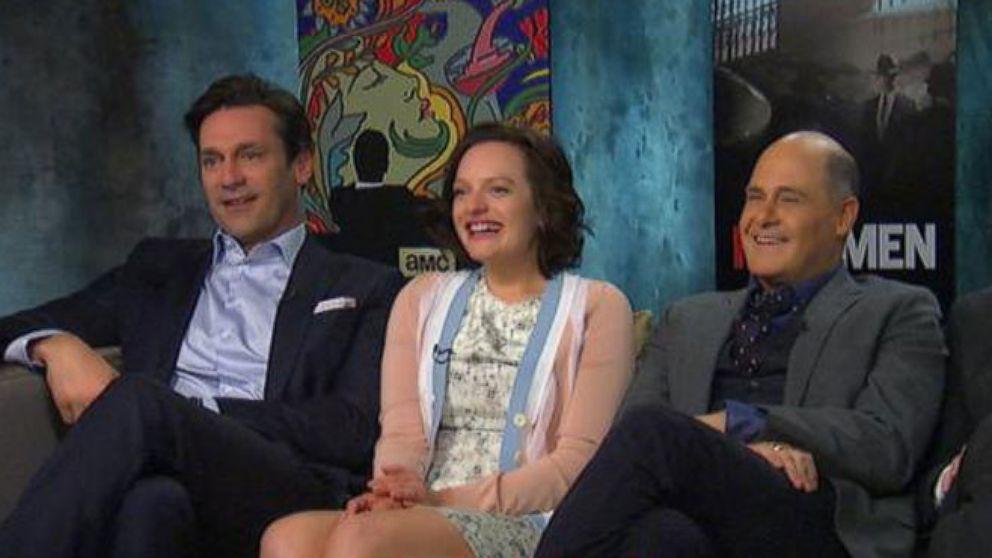 VIDEO: Mad Men Cast Reveals Hidden Talents With Diane Sawyer
