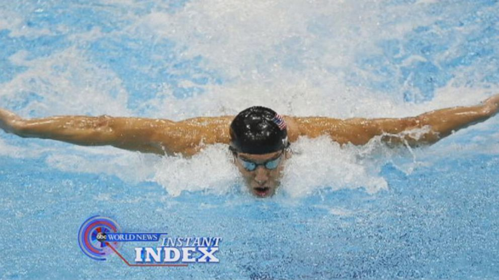 VIDEO: Instant Index: Michael Phelps Back in the Water to Compete Again