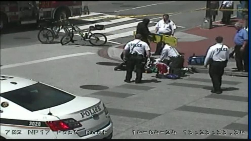 VIDEO: Secret Service Officers Save Womans Life