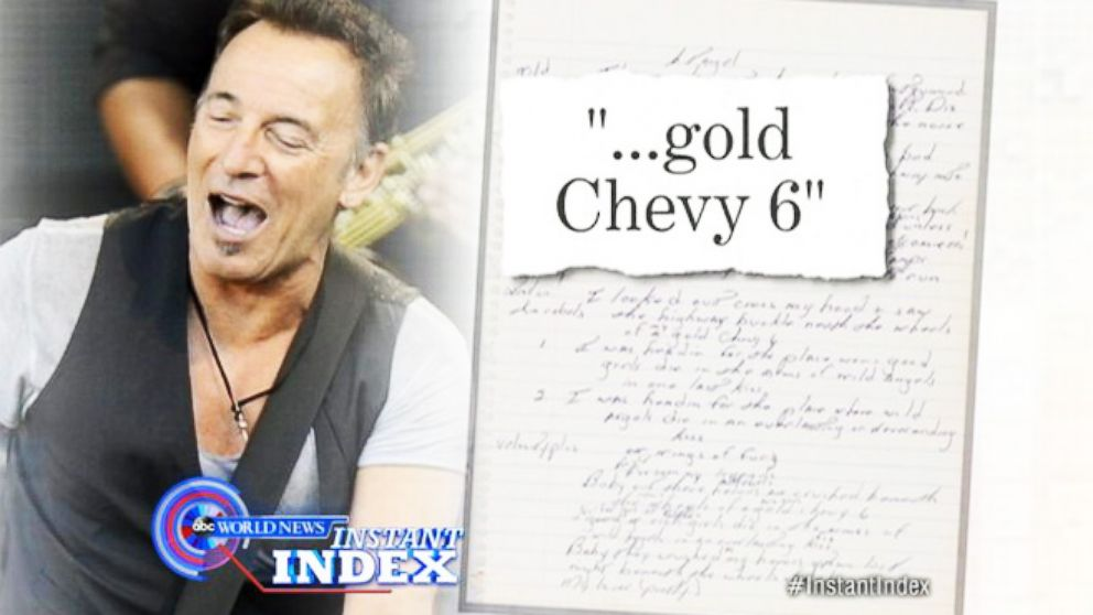 """VIDEO: Instant Index: The Truth Behind Springsteens """"Born to Run"""""""