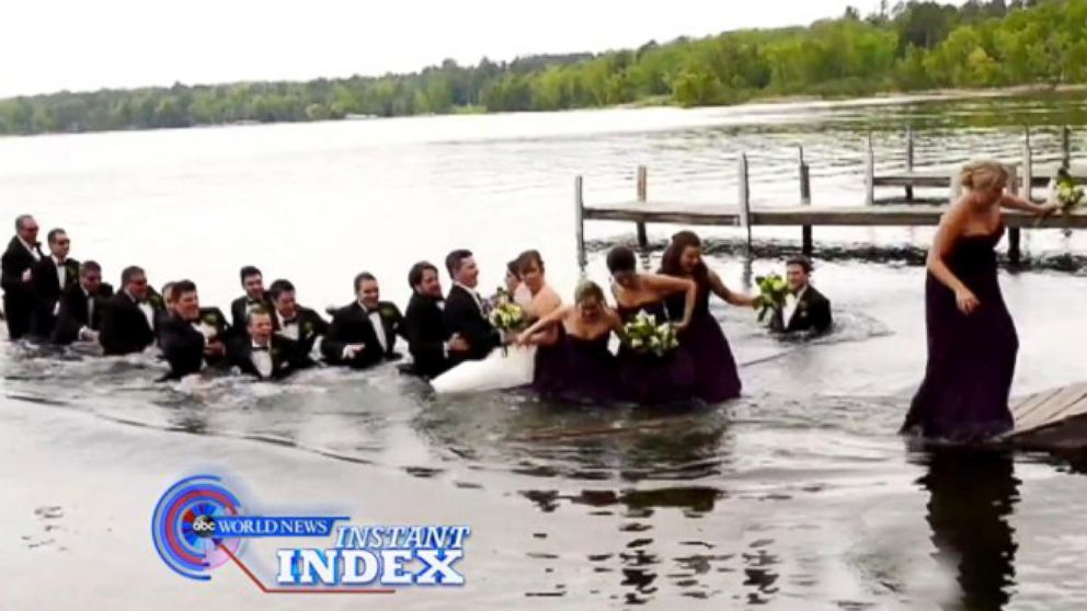 VIDEO: Instant Index: Wedding Party Dock Crashers