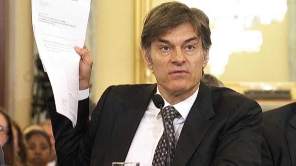 VIDEO: Dr. Oz in the Hot Seat on Capitol Hill
