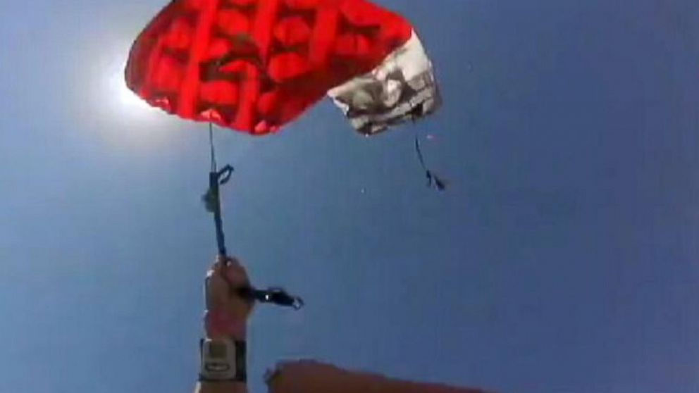 VIDEO: Instant Index: White-Knuckle Moment for Skydiver When Chute Doesnt Open