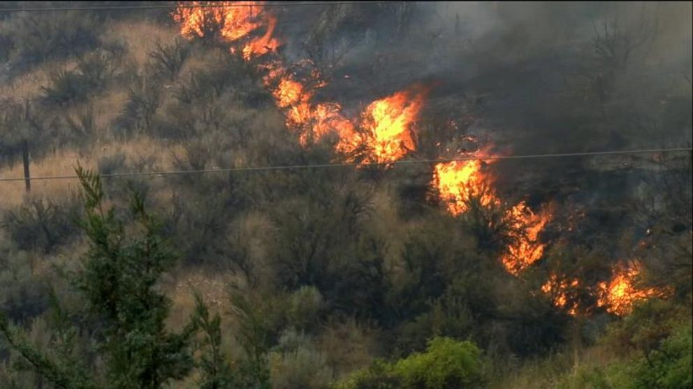 Wildfires and Severe Storms Hit West Coast