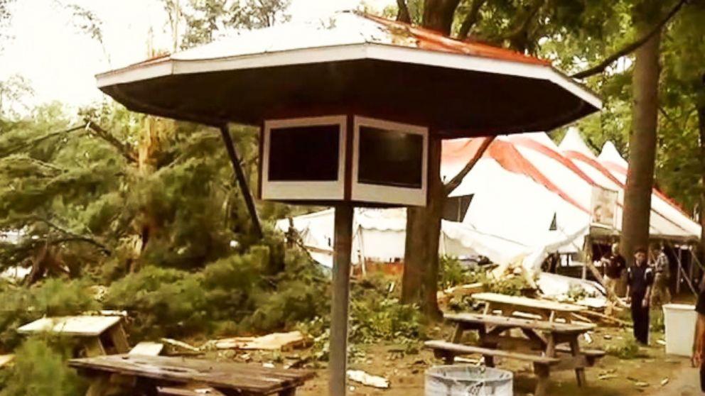 VIDEO: Deadly Tornado Tears Through Virginia Campground, Killing NJ Couple