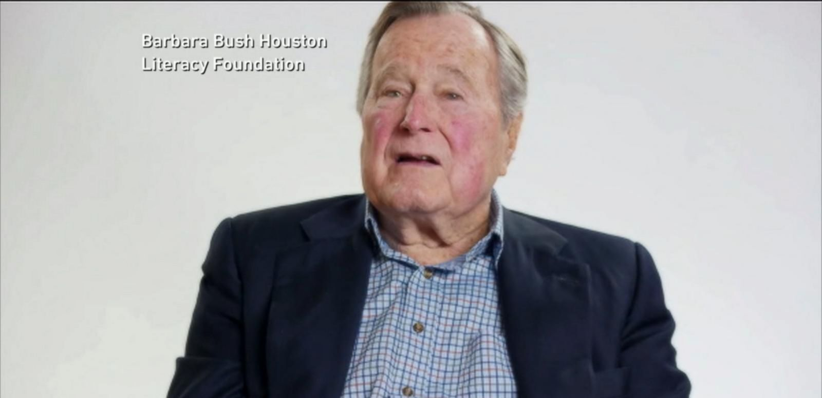 VIDEO: Former President George H.W. Bush on the Mend After Fall