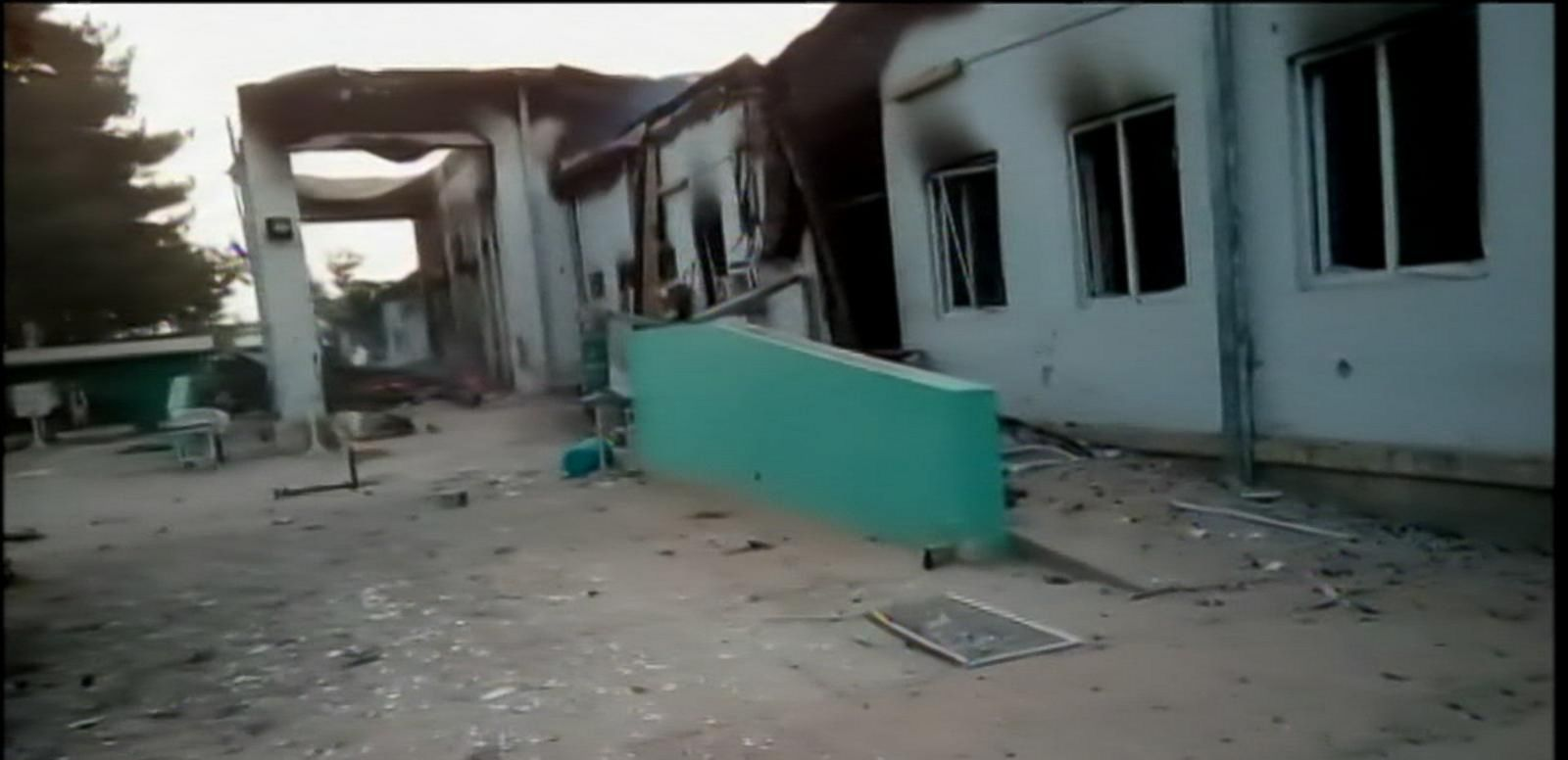 VIDEO: Destruction of a Hospital In Afghanistan Leaves 22 Dead