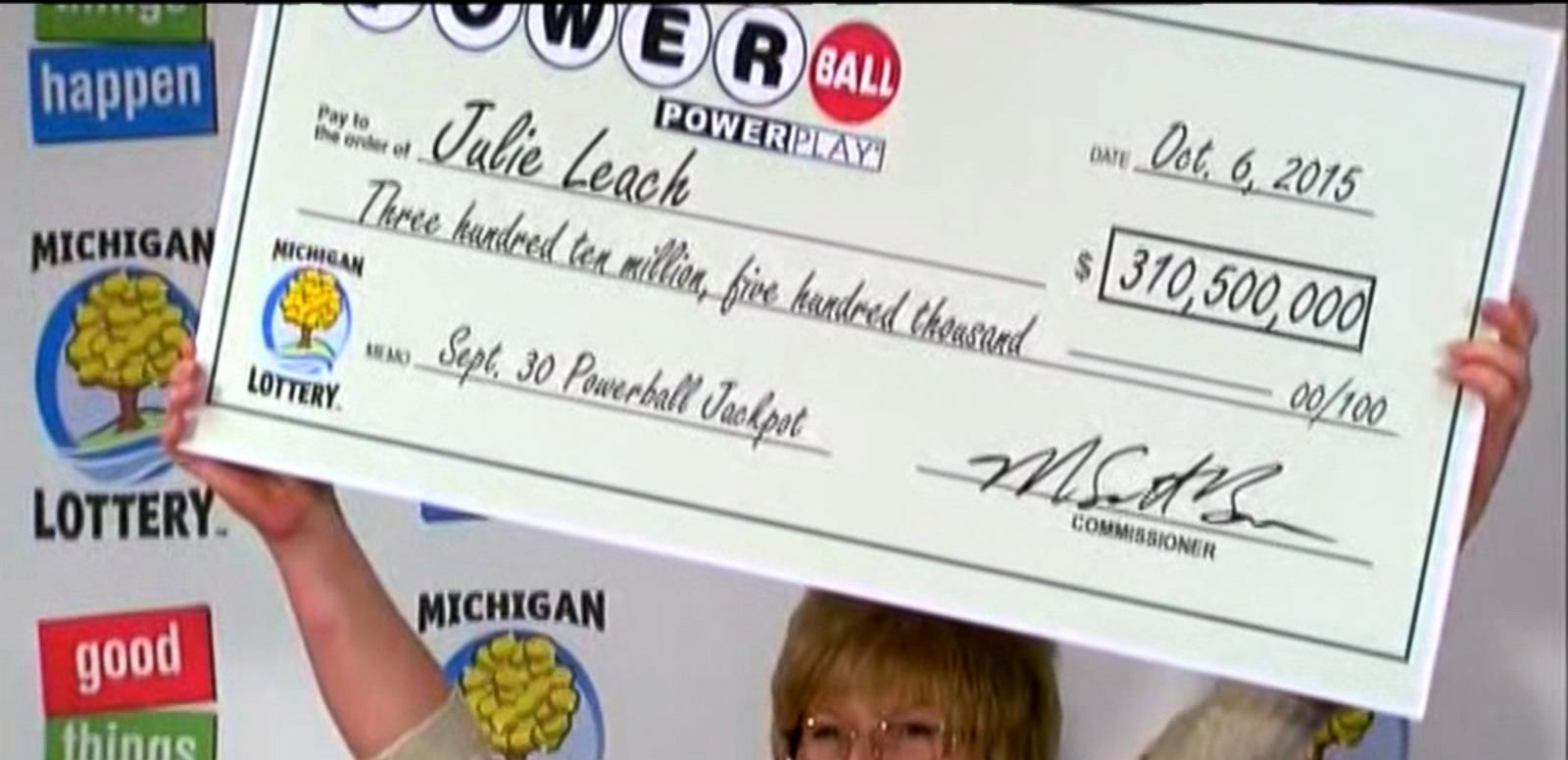 VIDEO: Cha-Ching for the Newest Michigan Millionaire