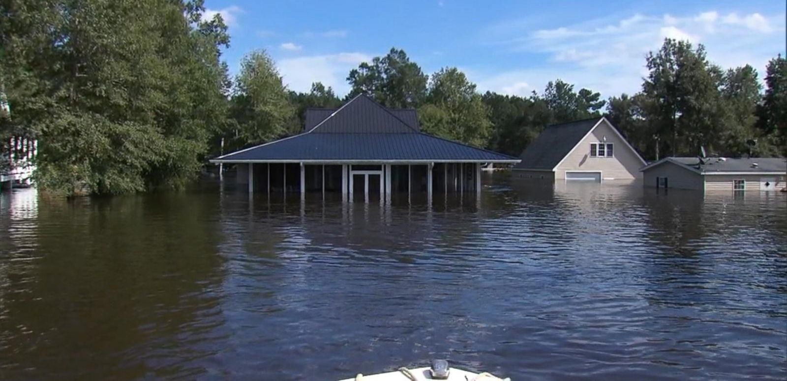 VIDEO: New Round of Devastation on South Carolina's Coast With More Rain in the Forecast