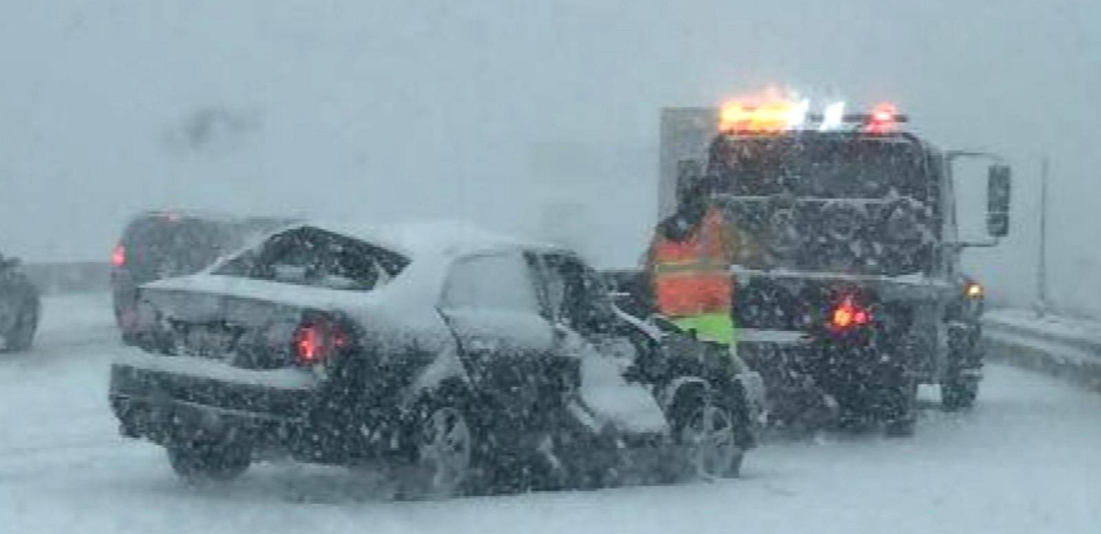 VIDEO: Major Winter Storm to Snarl Thanksgiving Travel
