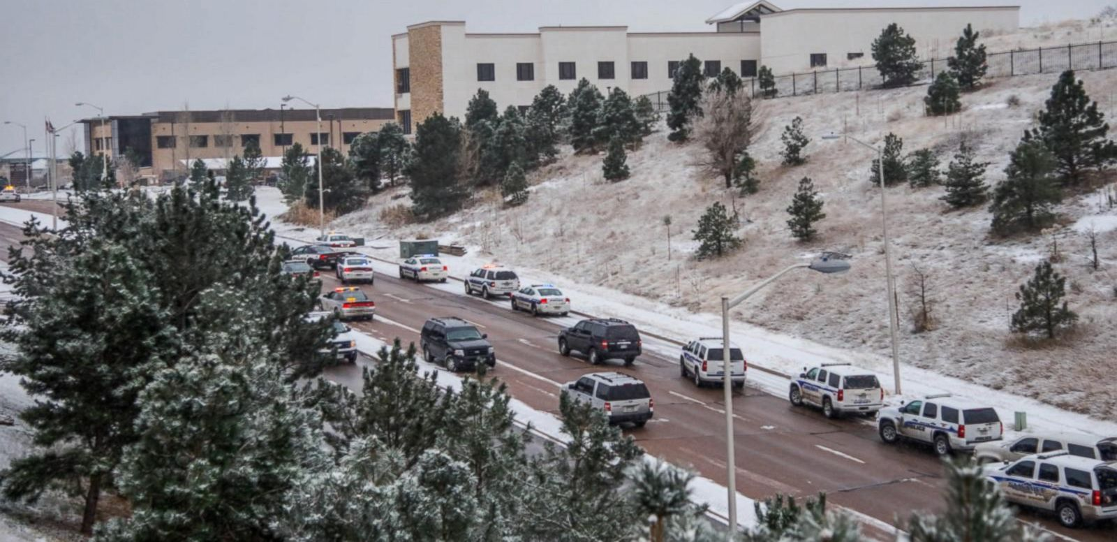 VIDEO: At 1 Policer Officers Killed, Multiple Wounded in a Shooting in Colorado Springs