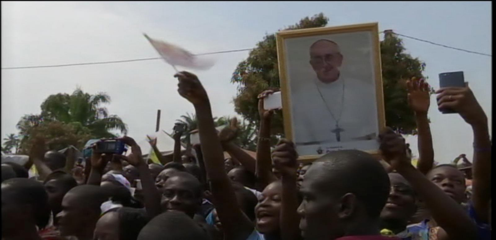 VIDEO: Pope Francis Visits One of Africa's Most Dangerous Areas