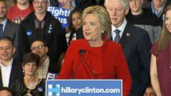 VIDEO: Clinton Beats Sanders by a Hair