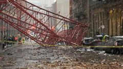 VIDEO: Deadly Crane Collapse in New York City