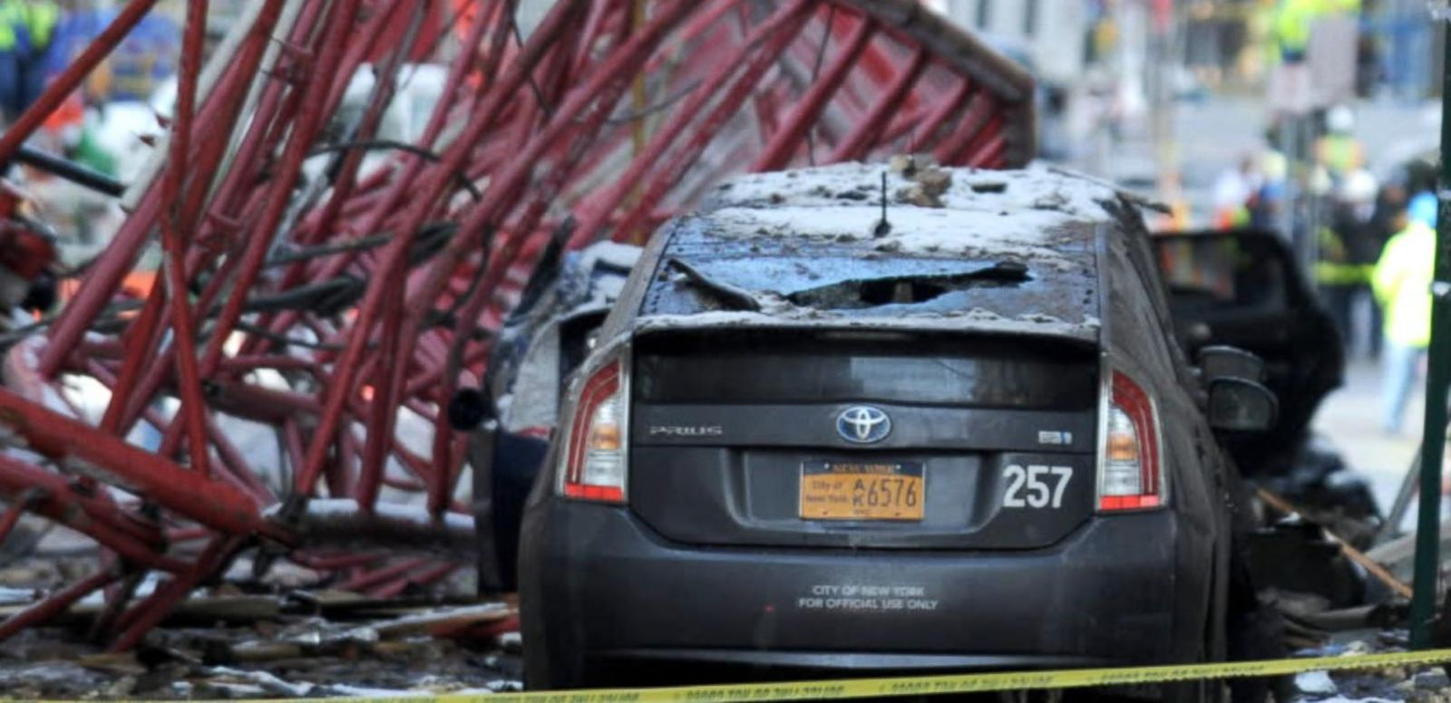 VIDEO: Officials Looking Closely at Cause of Manhattan Collapsed Crane