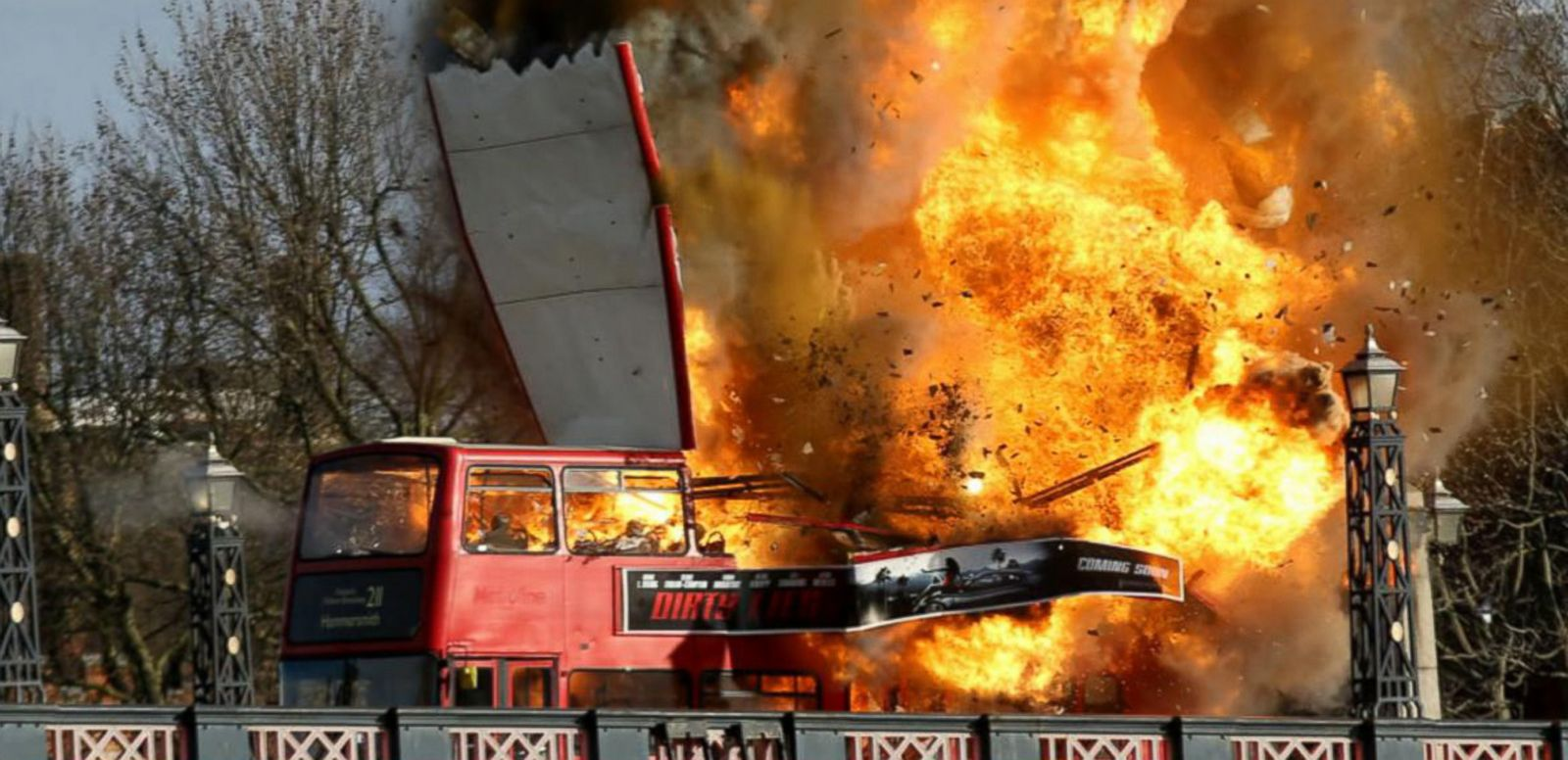 VIDEO: Double Decker Bus Explosion in London Part of Film Shoot, Scares Locals