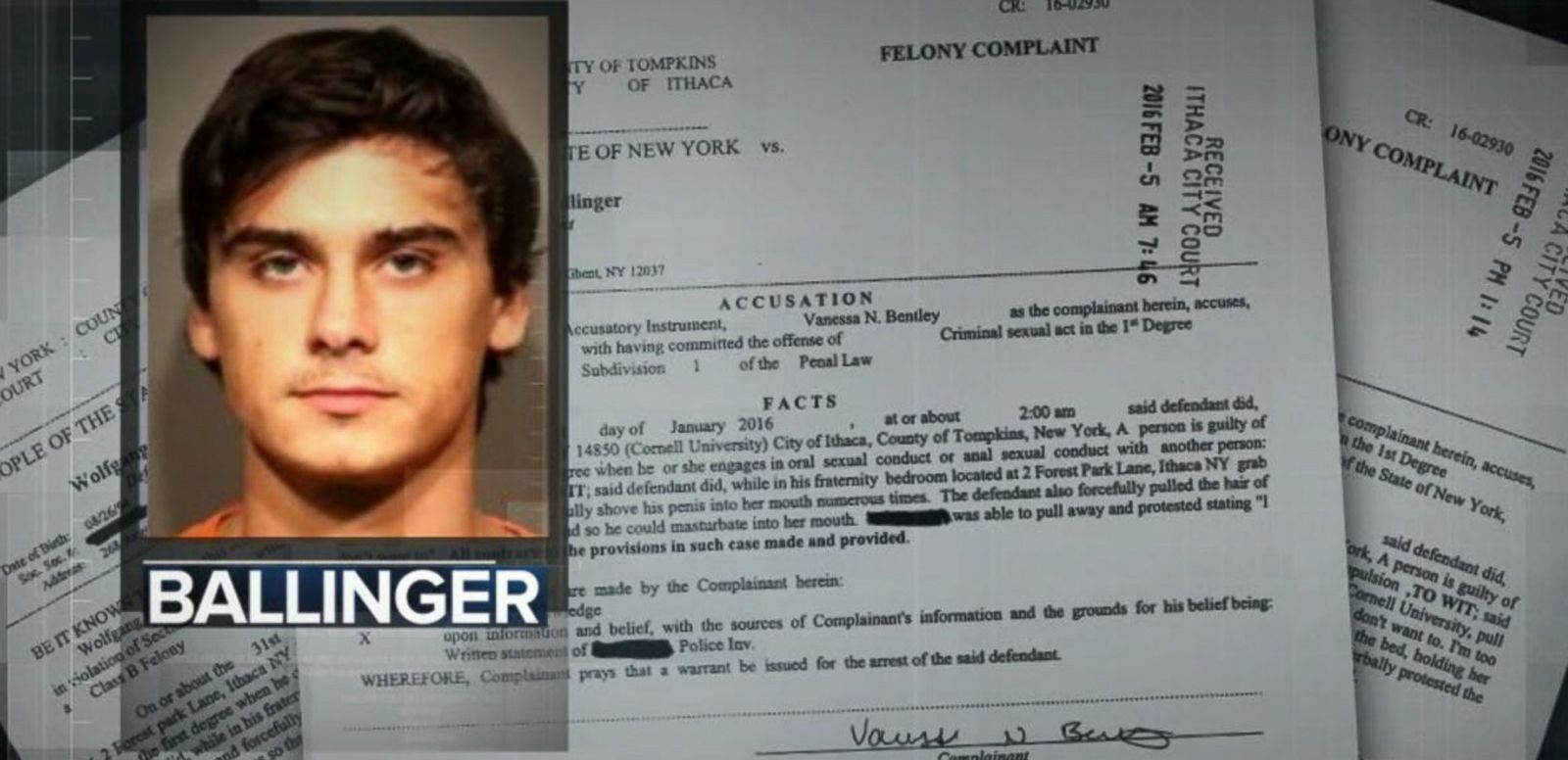 VIDEO: President of Ivy League Fraternity Turns Himself in to Police
