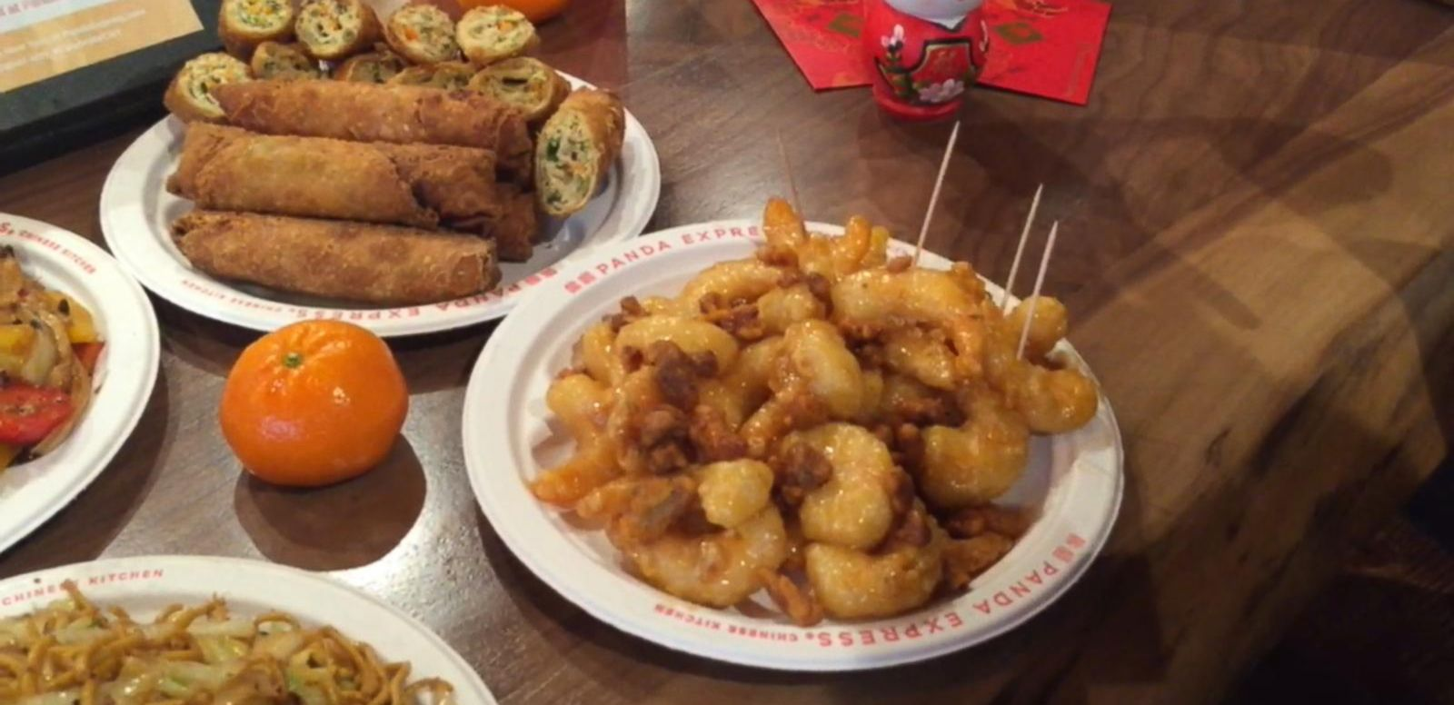 VIDEO: Panda Express Celebrates Chinese New Year