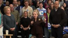 VIDEO: Hillary Clinton and Bernie Sanders in a Fight to the Finish in New Hampshire