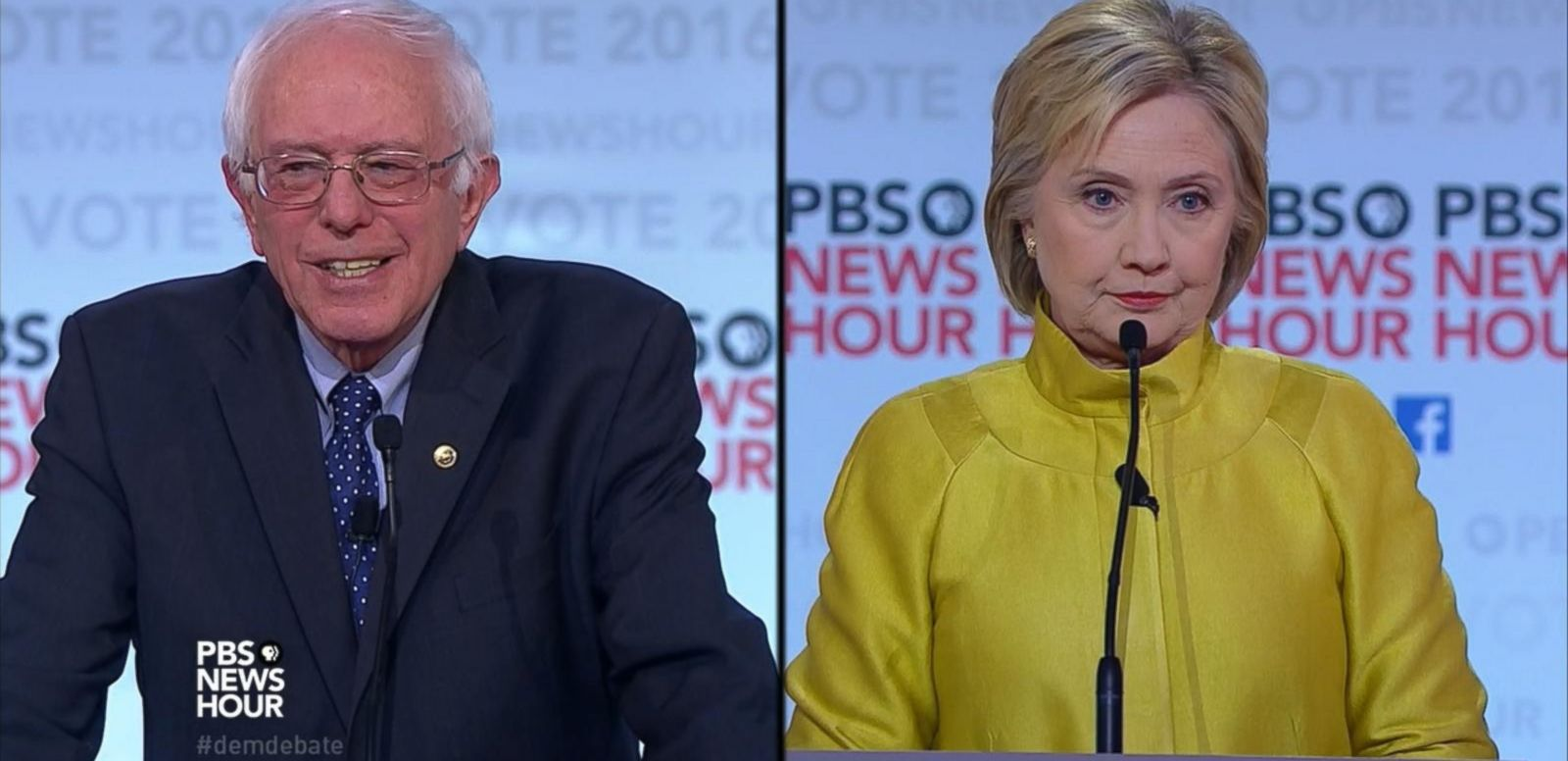 VIDEO: Democratic Debate Strategy for Hillary Clinton and Bernie Sanders