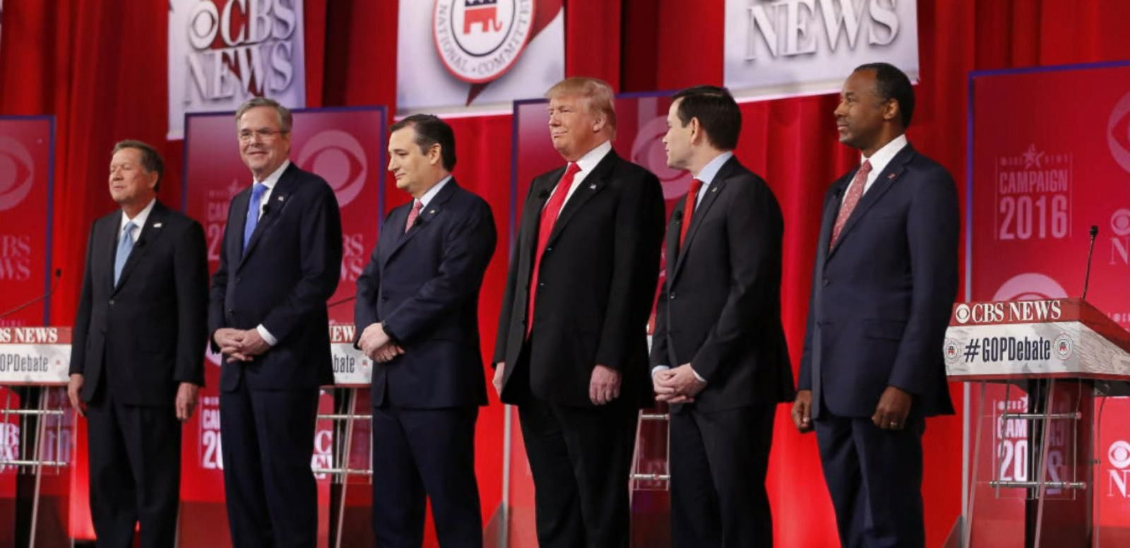 VIDEO: GOP Presidential Candidates Spar in South Carolina