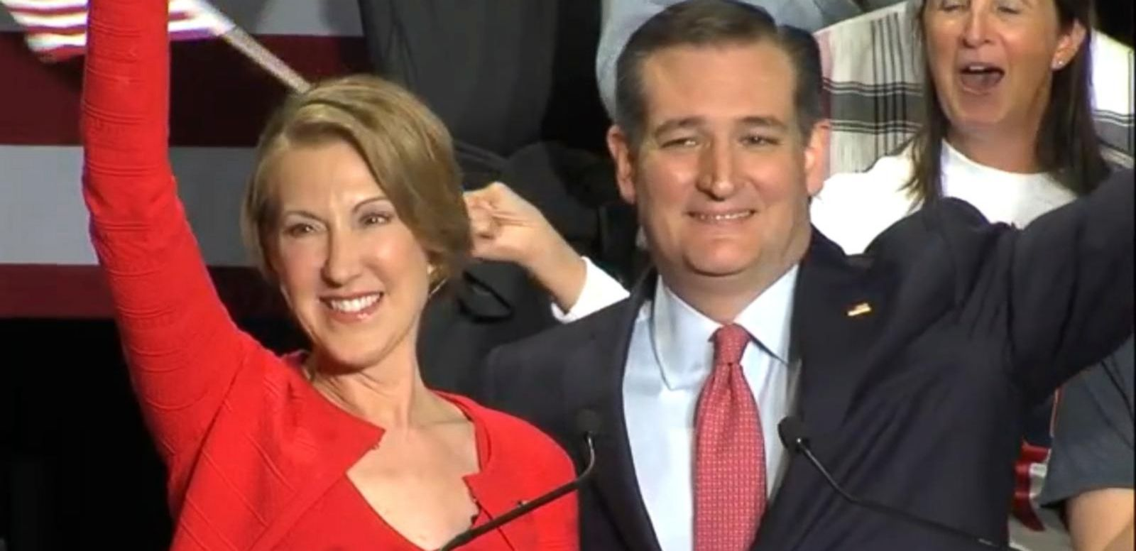 VIDEO: Ted Cruz Picks Carly Fiorina as Running Mate