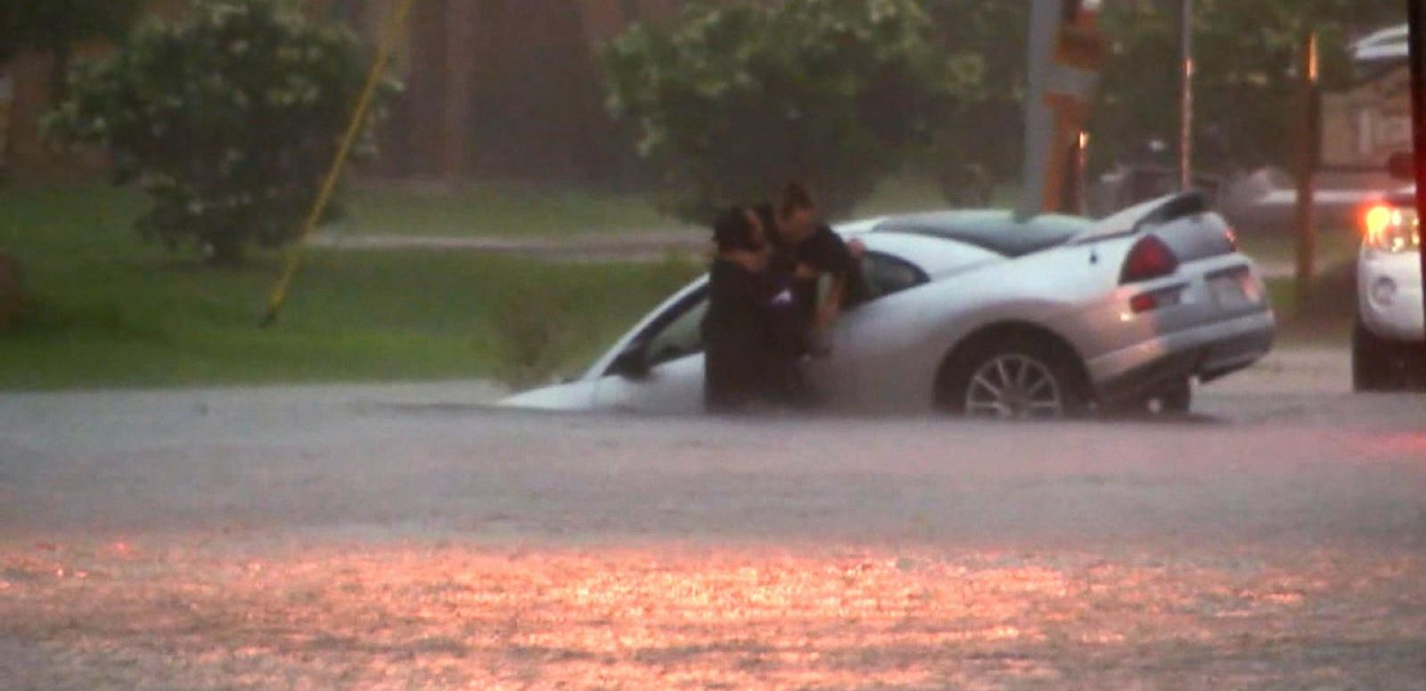 VIDEO: Severe Weather Brings Misery to Southern States